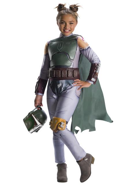 Strój Boba Fett dziewczęcy - Gwiezdne Wojny