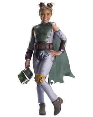 Boba Fett Kostüm für Mädchen - Star Wars