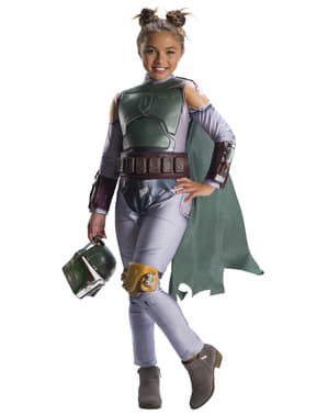 Déguisement Boba Fett fille - Star Wars