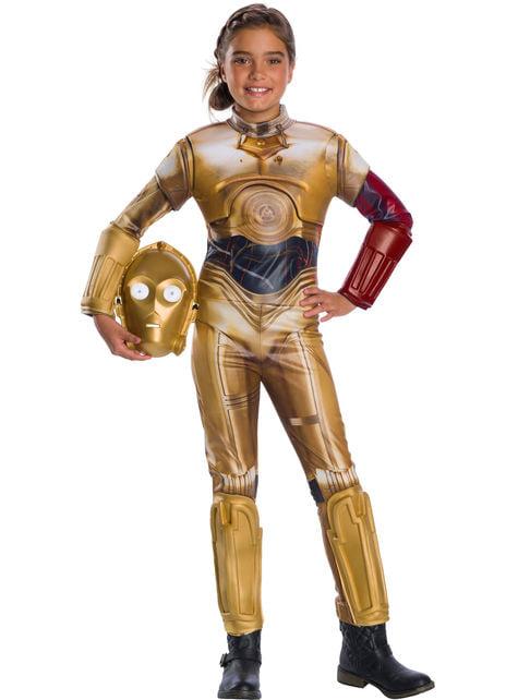 Strój C3PO dla dzieci - Star Wars