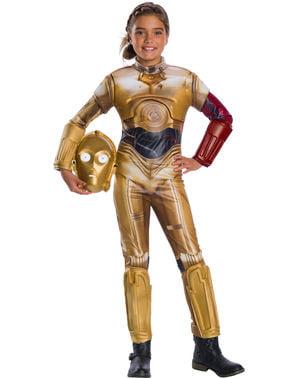 Maskeraddräkt C3PO för barn - Star Wars
