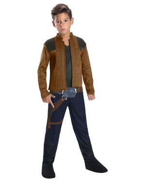 Han Solo costume for boys - Han Solo: A Star Wars Story