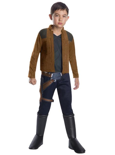 Maskeraddräkt Han Solo deluxe för pojke - Han Solo: A Star Wars story