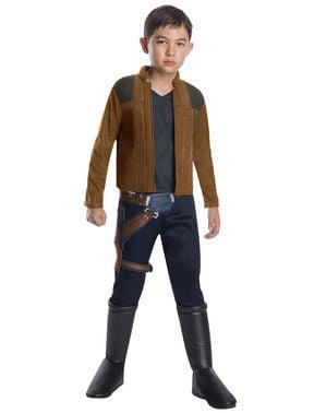 Maskeraddräkt Han Solo deluxe barn - Han Solo: A Star Wars story