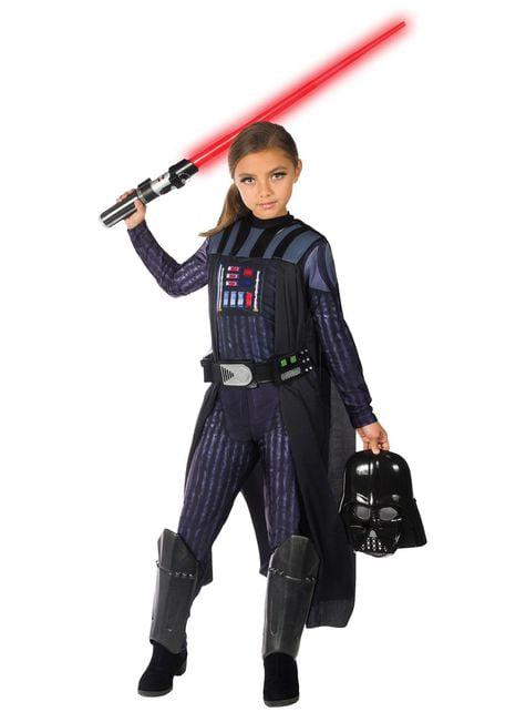 Disfraz de Darth Vader para niña - Star Wars
