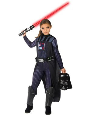 Costume di Darth Vader per bambina - Star Wars