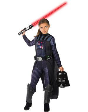 Kostium Darth Vader dziewczęcy - Gwiezdne Wojny