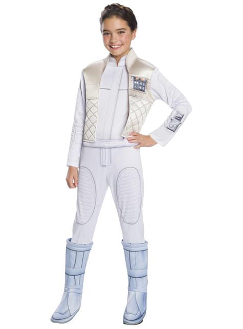 Disfraz de Leia Organa deluxe para niña - Star Wars