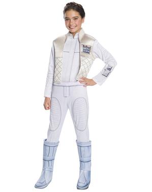 Costum Leia Organa deluxe pentru fată - Star Wars