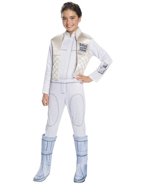 Maskeraddräkt Leia Organa deluxe barn - Star Wars