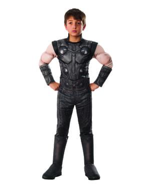 Deluxe Thor kostyme til gutter - Avengers: Infinity War