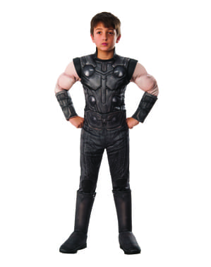 Maskeraddräkt Thor deluxe barn - The Avengers Infinity War