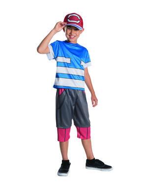 Disfraz de Ash deluxe para niño - Pokemon