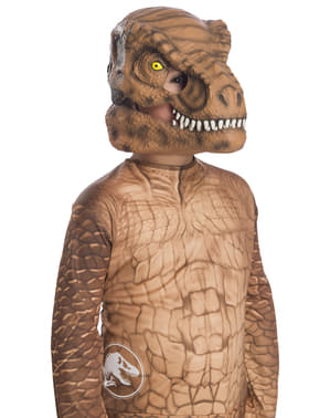 Máscara de Tiranosaurio Rex deluxe para niño - Jurassic World