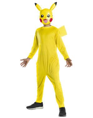 Klassisk Pikachu kostyme til gutter - Pokémon