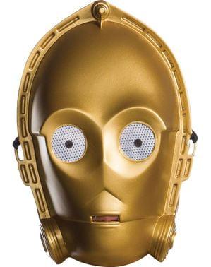 Klassiek C3PO masker voor volwassenen - Star Wars