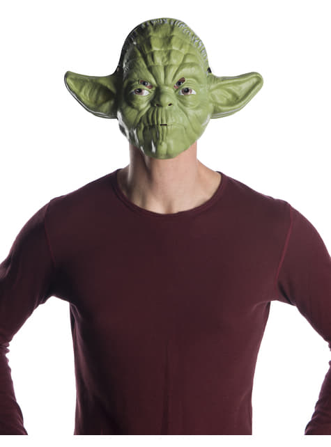 Máscara de Yoda classic para adulto - Star Wars