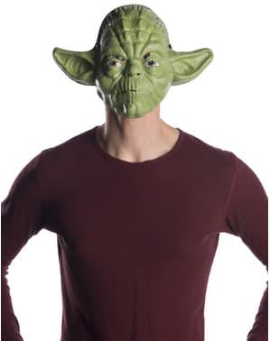 Maska Yoda klasyczna dla dorosłych - Gwiezdne Wojny