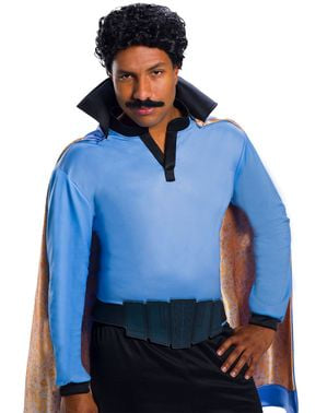 Perruque Lando Calrissian adulte - Star Wars