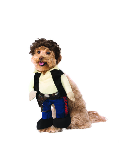 Han Solo costume for dogs - Han Solo: A Star Wars Story