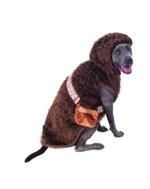 Chewbacca kostuum voor honden