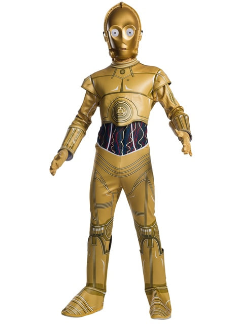C3PO costume for boys - Star Wars