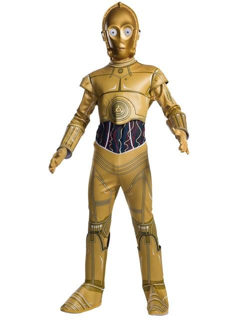 Fato de C3PO classic para menino - Star Wars