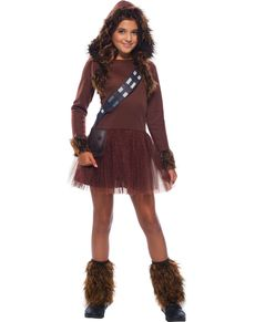 Disfraz de Chewbacca para niña - Star Wars