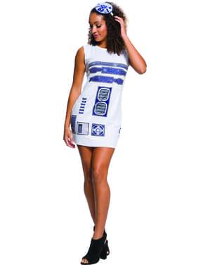 R2D2 kjole til kvinder - Star Wars
