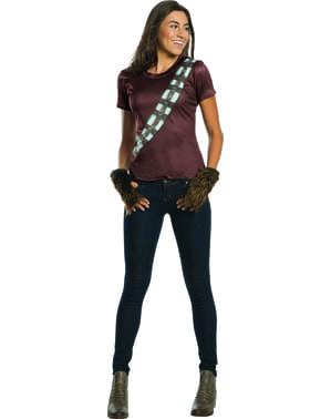 Strój Chewbacca damski - Gwiezdne Wojny