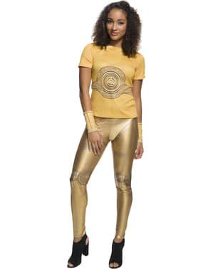 C3PO Kostüm für Damen - Star Wars