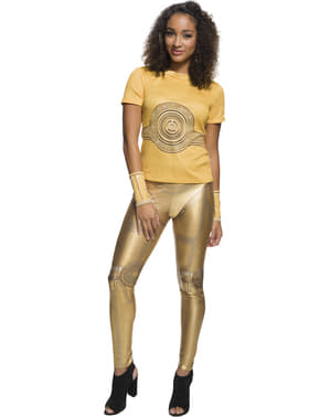Fato de C3PO para mulher - Star Wars