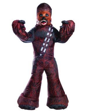 Chewbacca puhallettava asu aikuisille - Star Wars
