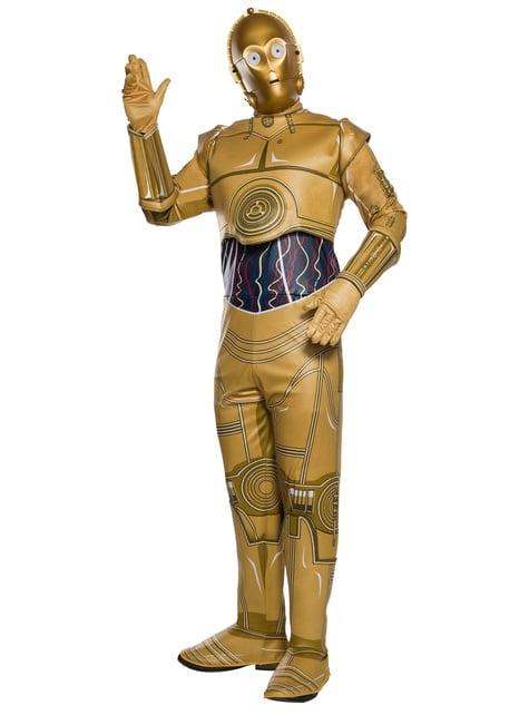 Fato de C3PO para adulto - Star Wars