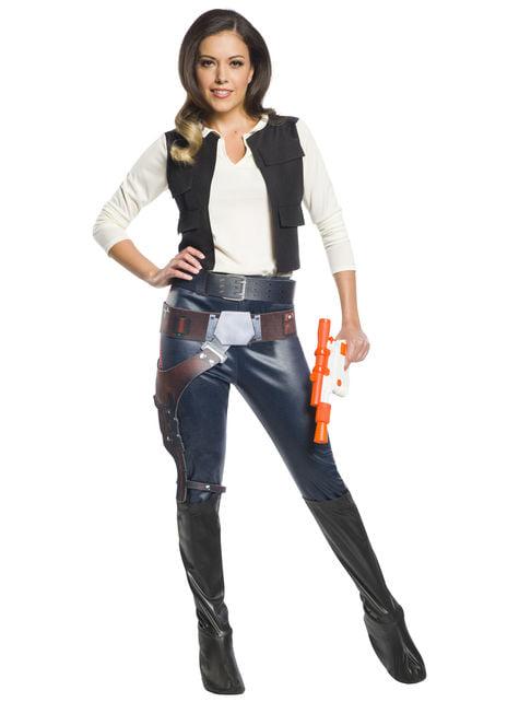 Strój Han Solo damski - Gwiezdne Wojny