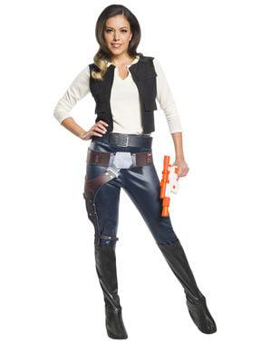 Han Solo Kostüm für Damen - Star Wars