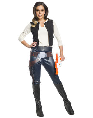 Han Solo kostyme til dame - Star Wars