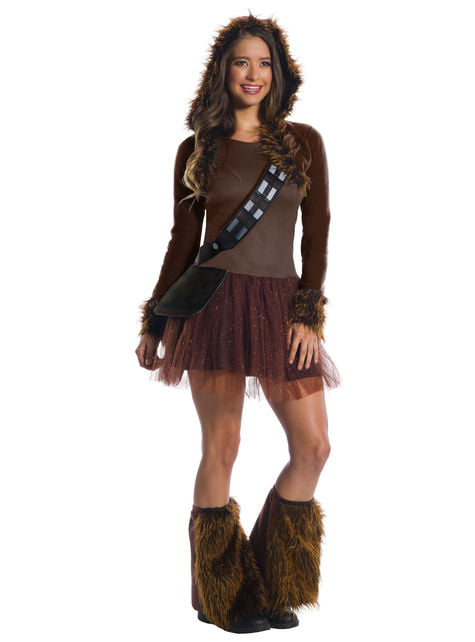 Strój Chewbacca deluxe damski - Gwiezdne Wojny