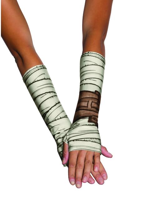 Rey gloves for women - Star Wars