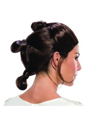 Rey pruik voor vrouw - Star Wars