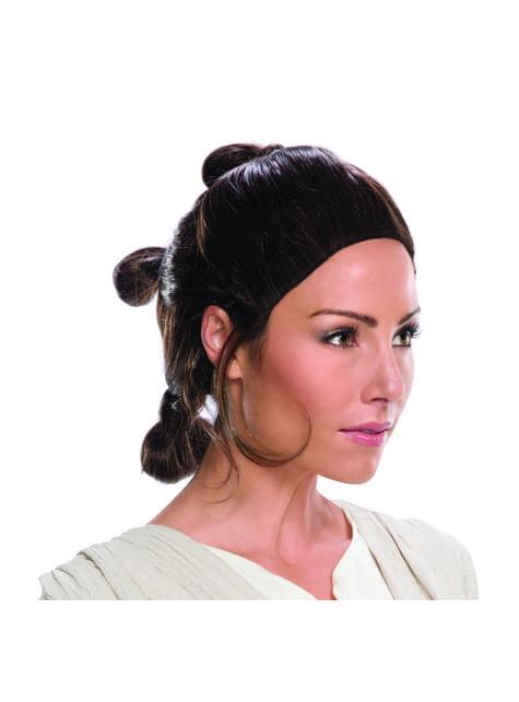 Rey wig for women - Star Wars