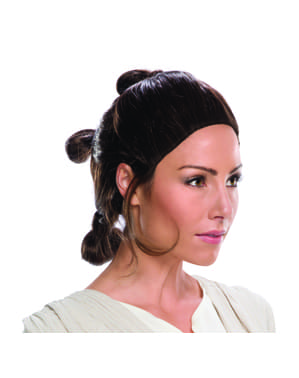 Dámská paruka Rey - Star Wars