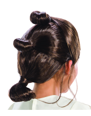 Rey wig for girls - Star Wars