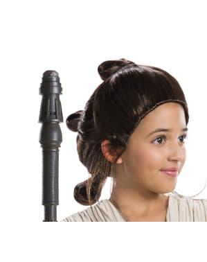 Rey peruukki tytöille - Star Wars