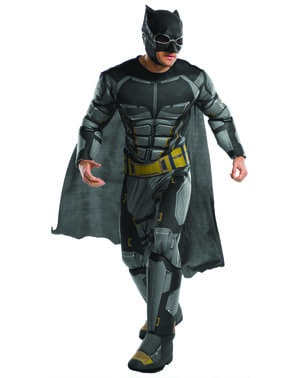 Deluxe Tactical Batman kostuum voor mannen - Justice League