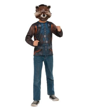 Rocket Raccoon kostume til mænd - Guardians of the Galaxy Vol 2