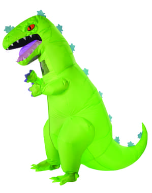 Reptar inflatable costume for adults - Rugrats