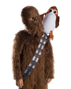 Uppblåsbar axelrem Porg Star Wars Episod VIII