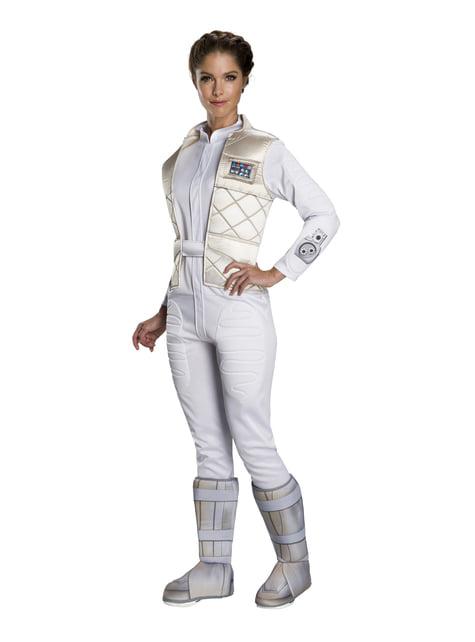 Maskeraddräkt Prinsessan Leia classic för henne - Star Wars