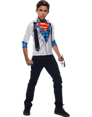 Costum Clark Kent pentru băiat